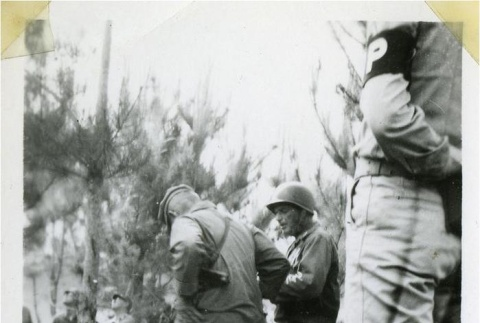 Marriage ceremony of a Japanese prisoner of war and an Okinawan civilian (ddr-densho-179-114)