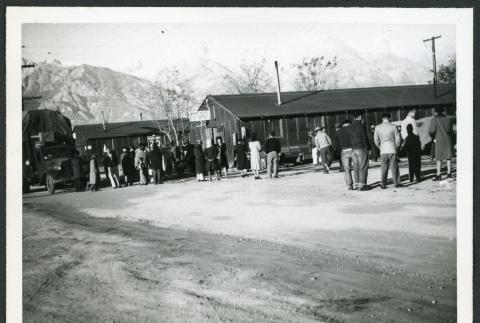 Photograph of furlough workers leaving for the beet fields of Montana and Idaho (ddr-csujad-47-11)
