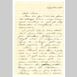 Letter from Emiko [Amy] Terada to Miss Laura Thomas, August 30, 1942 (ddr-csujad-4-12)