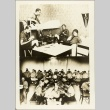Photographs of Hitler Youth in a dormitory and mess hall (ddr-njpa-13-7)