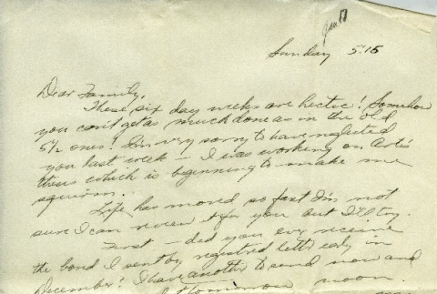 Letter from a camp teacher to her family (ddr-densho-171-15)