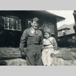 Clarence Matsumura and a young girl (ddr-densho-22-101)