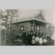 A group in front of a house (ddr-densho-353-33)