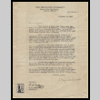Letter from Mary Tsukamoto to Mr. Orsburn, September 16, 1943 (ddr-csujad-55-115)