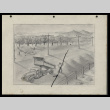 Pencil drawing of man and dump truck (ddr-csujad-55-1891)