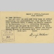Postcard from Issei man to wife (June 9, 1942) (ddr-densho-140-174)