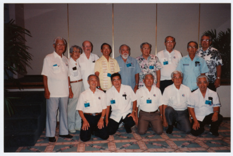 Group of veterans from the 442nd RCT (ddr-densho-368-375)
