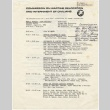 Schedule for the Public Hearing by the Commission on Wartime Relocation and Internment of Civilians (August 11, 1981) (ddr-janm-4-30)