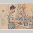 Painting of a chemist at work (ddr-manz-2-6)
