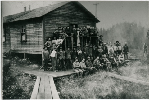 A group of sawmill workers (ddr-densho-353-45)