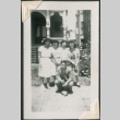 Young man with four young women (ddr-densho-321-213)