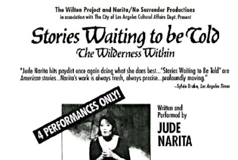 Stories waiting to be told: the wilderness within (ddr-csujad-42-183)