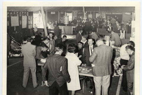 Ninth Annual Landscape Gardeners Convention booths and exhibits (ddr-jamsj-1-471)