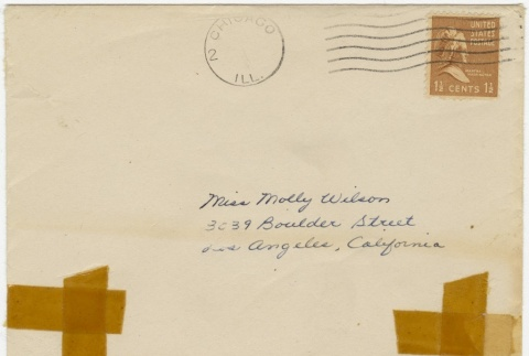 Letter (with envelope) to Molly Wilson from June Yoshigai (May 30, 1942) (ddr-janm-1-84)