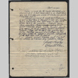 Letter from Kenneth Hori to George, April 19, 1943 (ddr-csujad-55-2549)