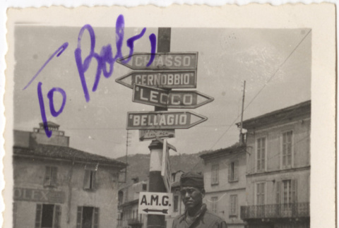 Soldier in Italy (ddr-densho-420-11)