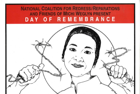 National Coalition for Redress/Reparations and Friends of Michi Weglyn present day of remembrance (ddr-csujad-24-174)