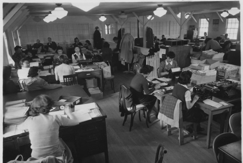 Administration office workers (ddr-densho-37-172)