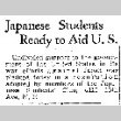 Japanese Students Ready to Aid U.S. (December 11, 1941) (ddr-densho-56-538)