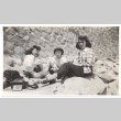 Lunch on a Rock Wall (ddr-one-2-423)