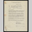 Memo from Joint Committee of Block Chairmen and Administrative Officers to Mr. C.E. Rachford, Project Director, Heart Mountain, November 6, 1942 (ddr-csujad-55-310)