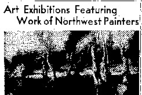 Art Exhibitions Featuring Work of Northwest Painters (July 20, 1947) (ddr-densho-56-1176)