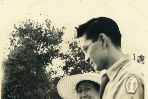 Clarence Matsumura and his family (ddr-densho-22-100)