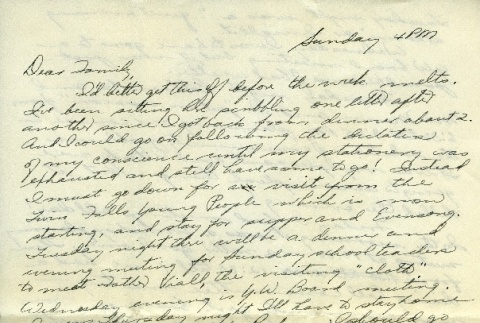 Letter from a camp teacher to her family (ddr-densho-171-32)