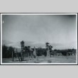 Photograph of the front entrance to Furnace Creek Camp in Death Valley (ddr-csujad-47-102)