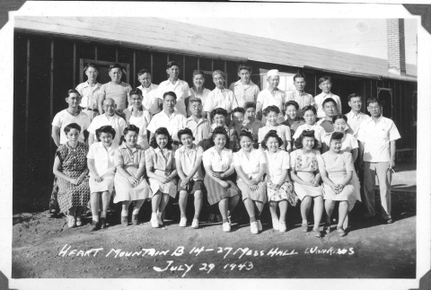 Camp mess hall workers (ddr-densho-157-63)