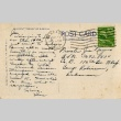 Postcard to a Nisei man from his sister (ddr-densho-153-182)