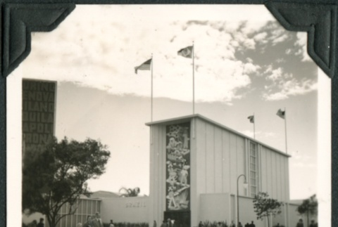 View of a building at the Golden Gate International Exposition (ddr-densho-300-166)