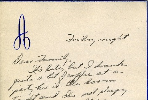 Letter from a camp teacher to her family (ddr-densho-171-34)