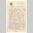 Letter from Masao Okine to [Hatsuno] Hotty Okine, April 24, 1945 (ddr-csujad-5-76)