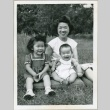 A woman with two children (ddr-densho-300-85)
