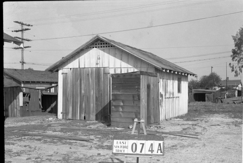 Building labeled East San Pedro Tract 074A (ddr-csujad-43-118)