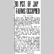 90 Pct. of Jap Farms Occupied (May 17, 1942) (ddr-densho-56-799)