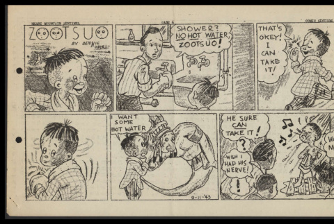 Heart Mountain sentinel (September 11, 1943): Zootsuo (ddr-csujad-55-1011)
