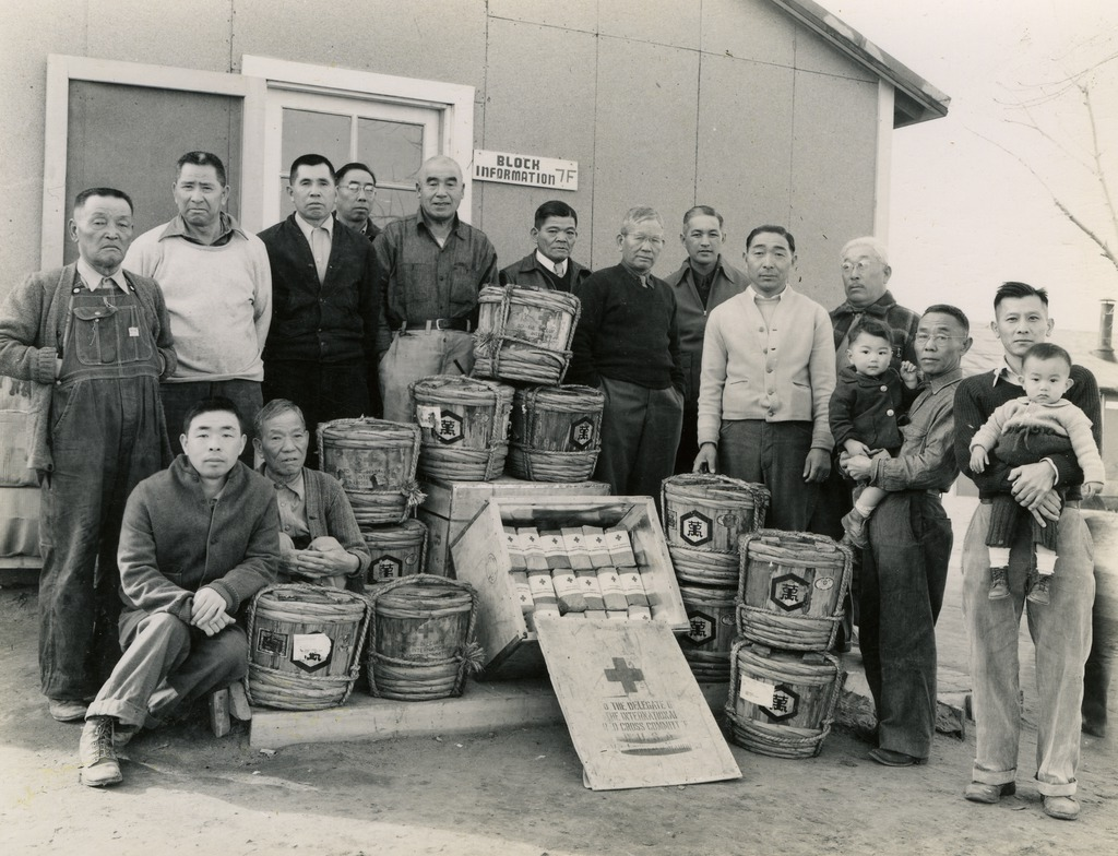 photo essay colorado s amache concentration camp  shipment of goods from 1944 george ochikubo collection